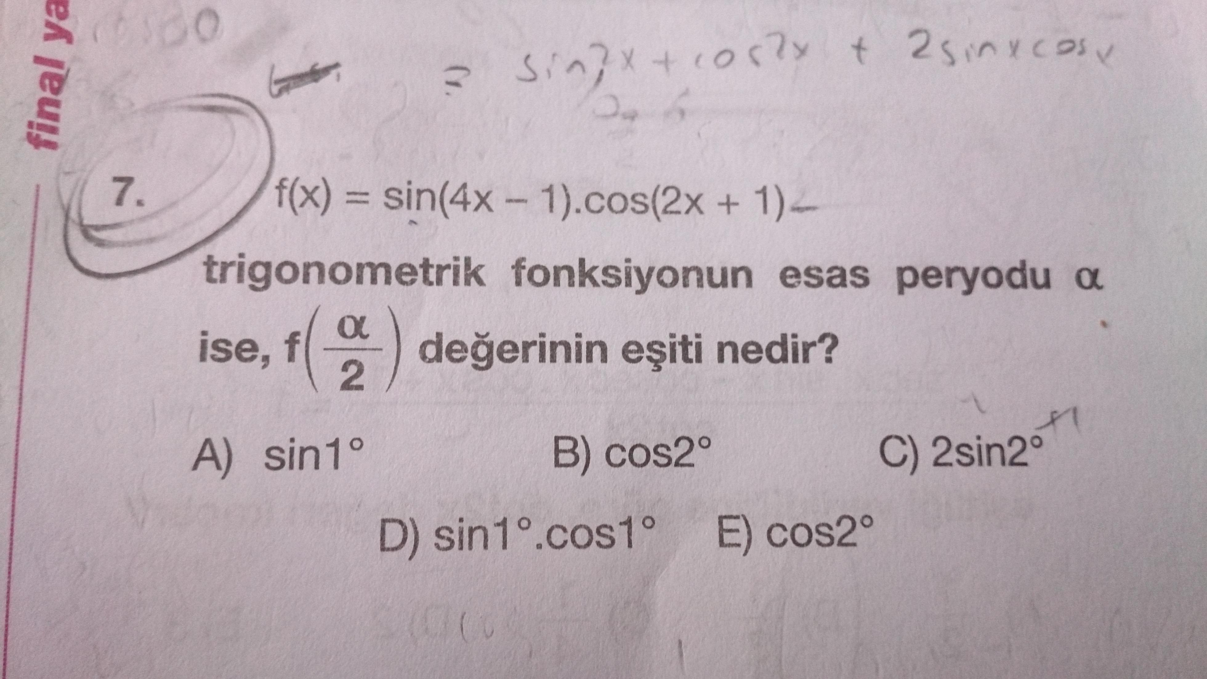 Trigonometri peryod