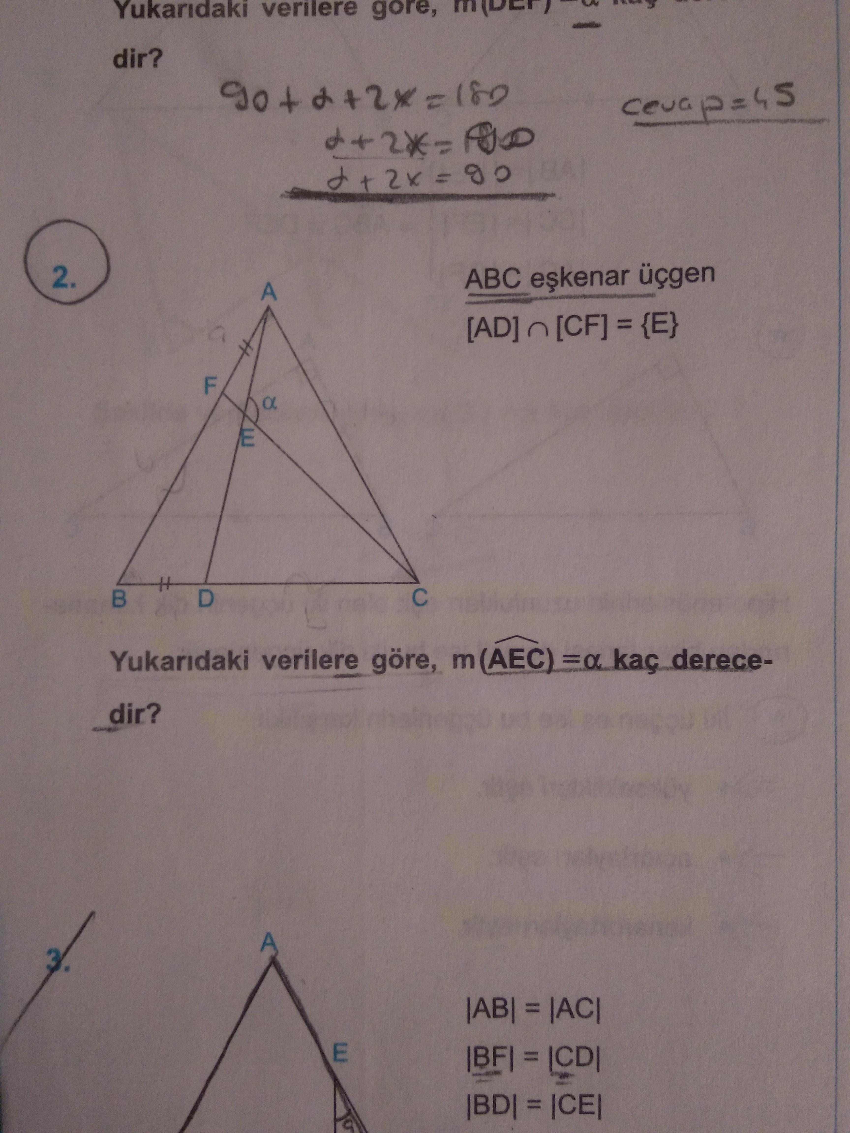 çap 2 geometri