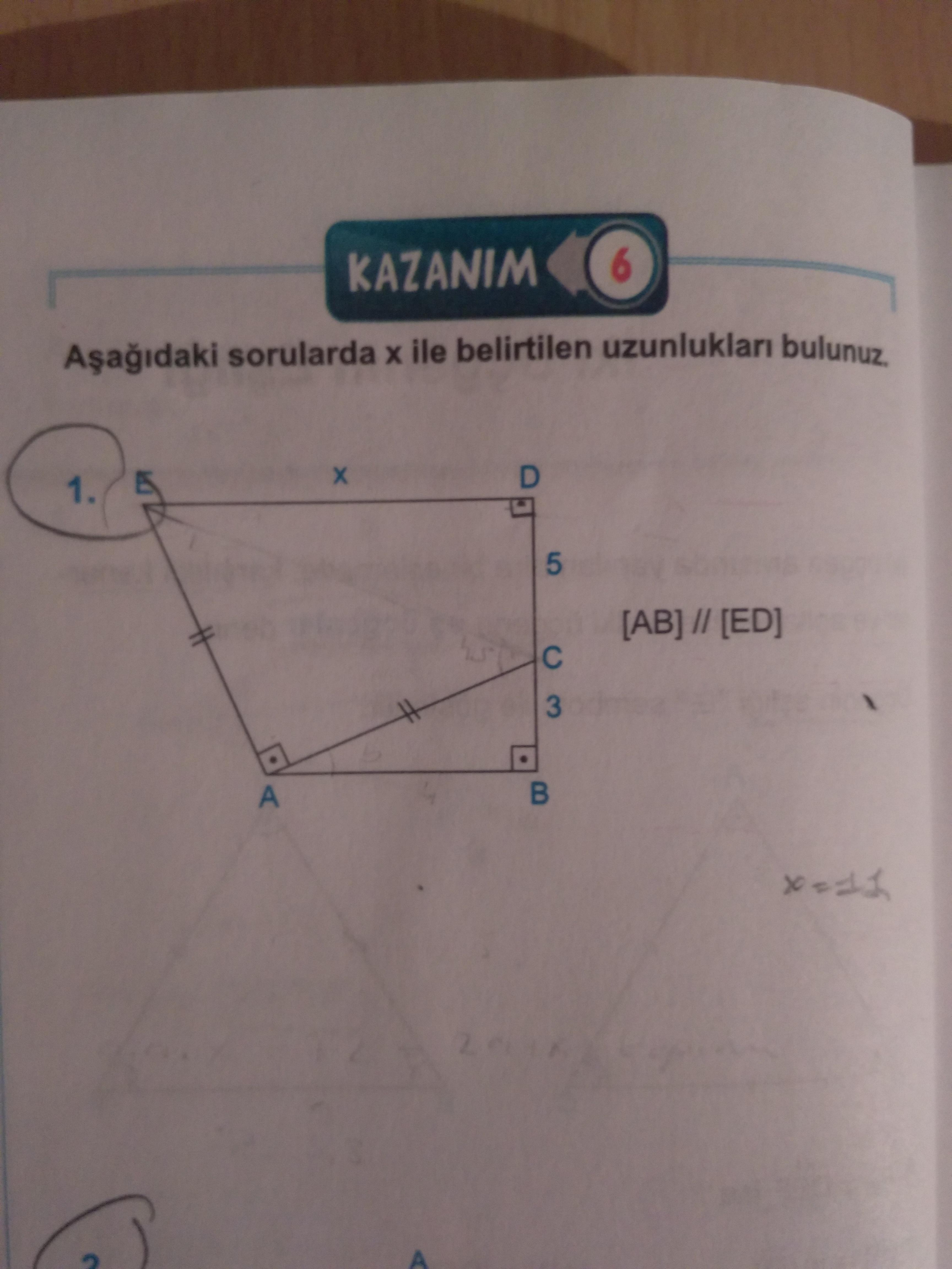 Çap 1 geometri