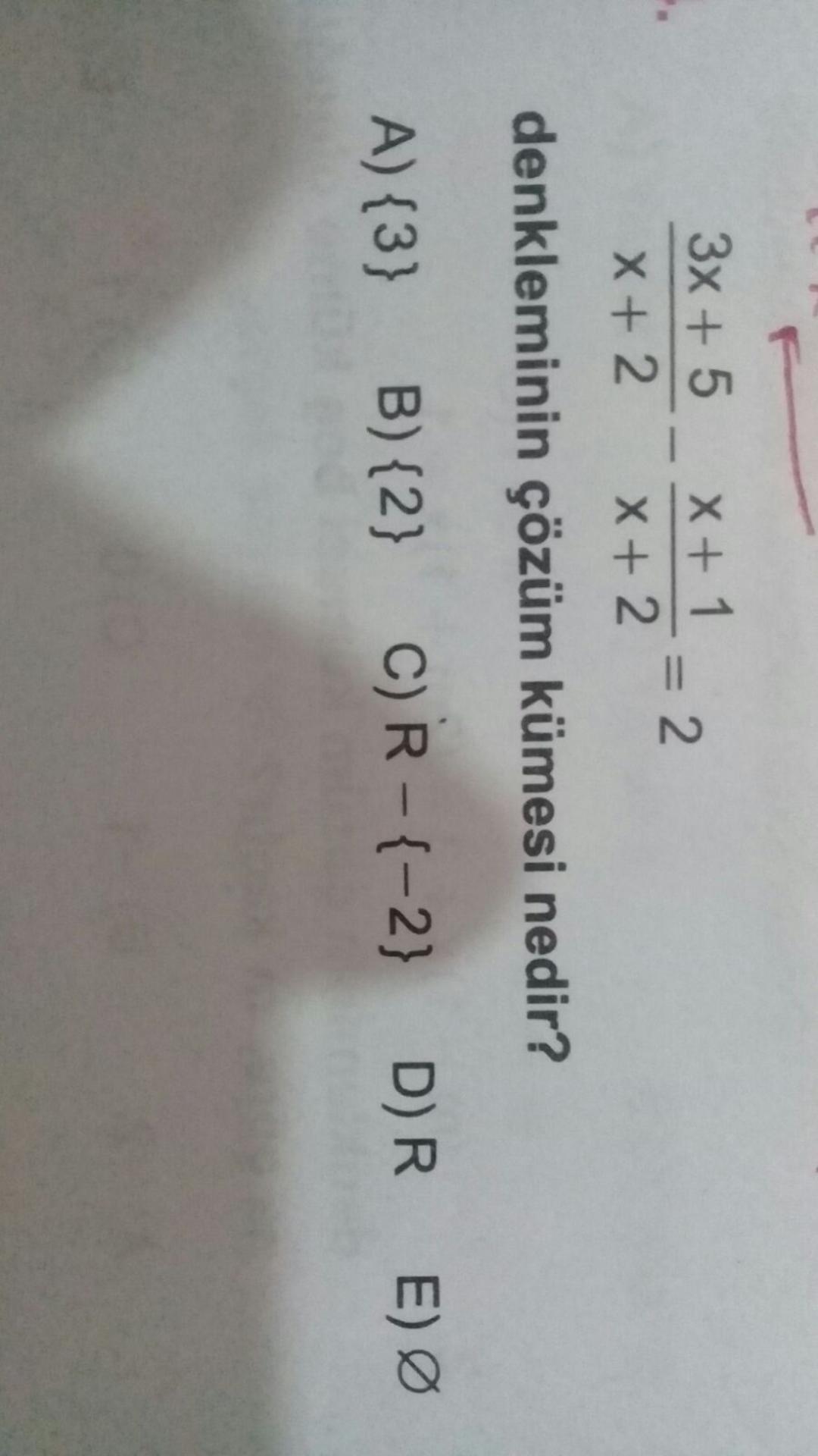 3x+5 (çözüm kumesi)