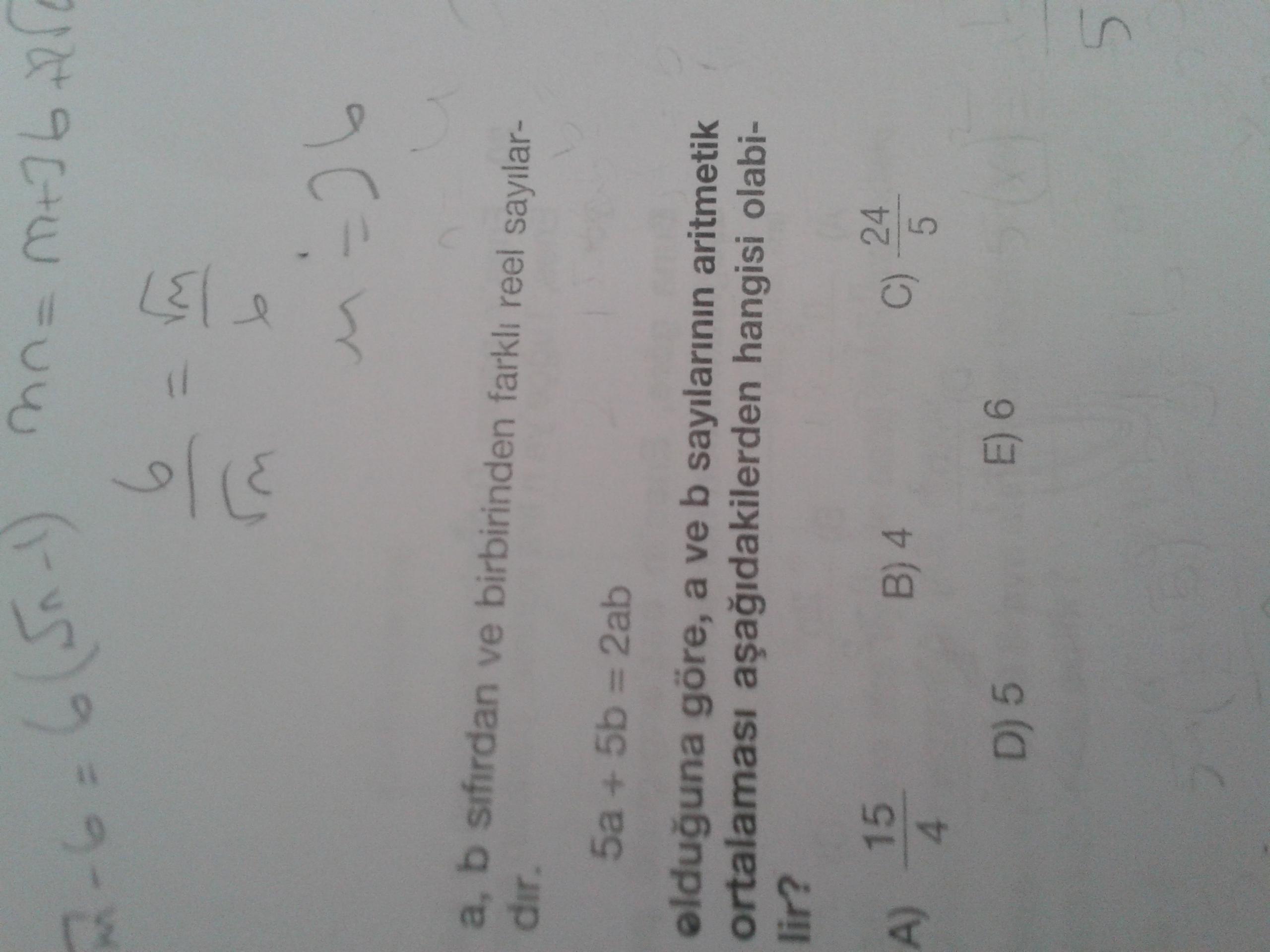 Aritmetik Orta