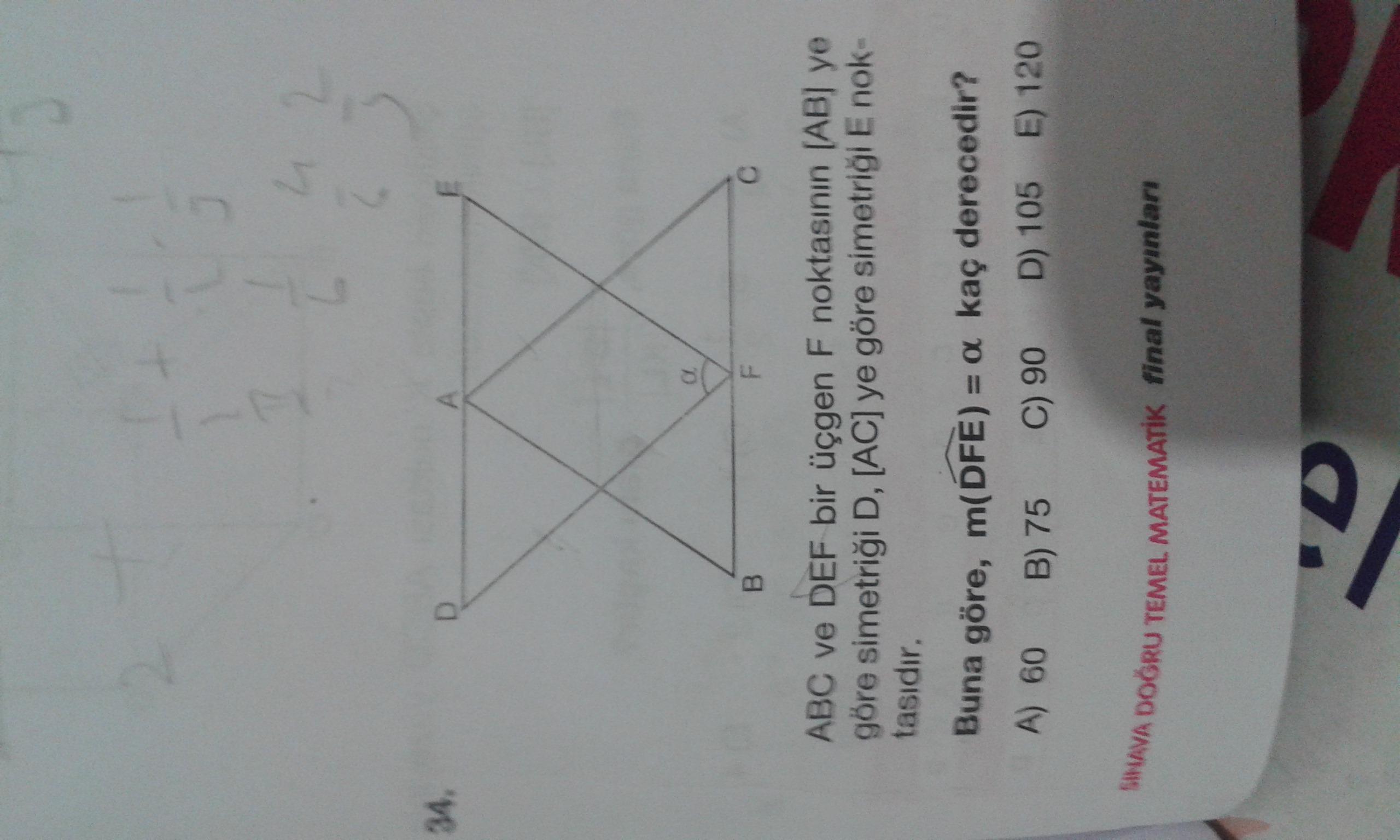 Üçgen.  Simetri